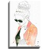 Bashian Home Fun in a Bun by Kelsey McNatt Painting Print on Gallery Wrapped Canvas