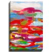 Bashian Home Bless this Mess by Susan Skelley Painting Print on Gallery Wrapped Canvas