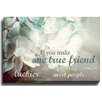 Bashian Home One True Friend by Lisa Russo Photographic Print on Wrapped Canvas