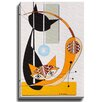 Bashian Home Cat D by Dominic Bourbeau Graphic Art on Wrapped Canvas