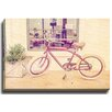Bashian Home Red Bike by Terri Ellis Photographic Print on Gallery Wrapped Canvas