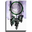 Bashian Home Christmas Dream Catcher by Kelsey McNatt Painting Print on Gallery Wrapped Canvas