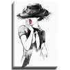 Bashian Home Madeline by Lady Gatsby Painting Print on Gallery Wrapped Canvas