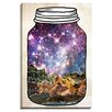 Bashian Home 'Love Can Move Mountains' by Jenndalyn Graphic Art on Gallery Wrapped Canvas