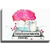 Bashian Home Fashion Book by Kelsey McNatt Painting Print on Wrapped Canvas