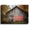 Bashian Home Red Door by Lisa Russo Photographic Print on Gallery Wrapped Canvas