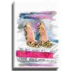 Bashian Home Fashion Book with Heels by Kelsey McNatt Painting Print on Gallery Wrapped Canvas