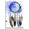 Bashian Home Purple Dream Catcher by Kelsey McNatt Painting Print on Gallery Wrapped Canvas
