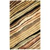 Nourison Parallels Yellow Area Rug