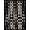 Nourison Ultima Ivory/Black Area Rug