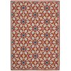 Nourison Carribean Rust Indoor/Outdoor Area Rug