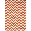 Nourison Portico Orange Indoor/Outdoor Area Rug