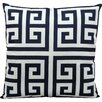 Nourison Greek Key Outdoor Throw Pillow