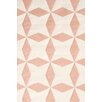 Dash & Albert Europe Lucy Handmade Pink Indoor/Outdoor Area Rug