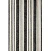 Dash & Albert Europe Birmingham Hand-Loomed Black Area Rug
