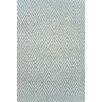 Dash & Albert Europe Diamond Blue/Ivory Indoor/Outdoor Area Rug