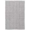 Dash & Albert Europe Fair Isle Woven Grey/Platinum Rug