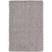 Dash & Albert Europe Two-Tone Graphite/Ivory Indoor/Outdoor Area Rug