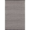 Dash & Albert Europe Diamond Graphite/Ivory Indoor/Outdoor Area Rug