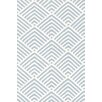 Dash & Albert Europe Cleo Blue Indoor/Outdoor Area Rug