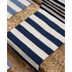 Dash & Albert Europe Catamaran Navy/Ivory Rug