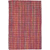 Dash & Albert Europe Coco Hand-Woven Red Indoor/Outdoor Area Rug