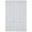 Dash & Albert Europe Fair Isle Blue/Ivory Area Rug