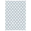 Dash & Albert Europe Samode Hand-Woven Light Blue/White Indoor/Outdoor Area Rug