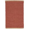 Dash & Albert Europe Arlington Handmade Red/Camel Indoor/Outdoor Area Rug