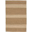Dash & Albert Europe Lexington Handmade Ivory/Brown Indoor/Outdoor Area Rug
