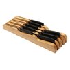 YBM Home Bamboo Knife Block In Drawer