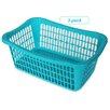 YBM Home Plastic Laundry Basket (Set of 3)