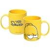 ICUP Inc The Simpsons 20 oz. Homer Head Ceramic Mug