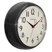 """Westclox Clocks 9.5"""" Retro Wall Clock"""