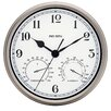 "Westclox Clocks Big Ben 12"" Round Metal Frame Outdoor Wall Clock"
