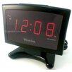 Westclox Clocks Electric Plasma LED Alarm Clock