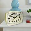 Westclox Clocks Quartz Electric Cream Alarm Clock