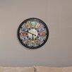 "Westclox Clocks 18"" Round Panel Wall Clock"