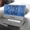 Westclox Clocks Plasma Screen LCD Alarm Clock