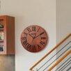 "Westclox Clocks 12"" Solid Wood Branded Wall Clock"