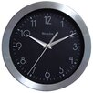 "Westclox Clocks 9"" Metal Frame Wall Clock"