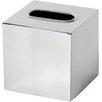 DMA Elements Polished Stainless Steel Tissue Box Cover