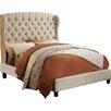 Mulhouse Furniture Felisa Queen Upholstered Platform Bed