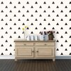 Swag Paper Triangles Panel Wallpaper