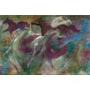 Hadley House Co 'Horse of a Different Color' by Cheri Greer Painting Print on Wrapped Canvas