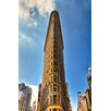 Hadley House Co Flat Iron Building New York by Kelly Wade Photographic Print on Wrapped Canvas