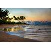 Hadley House Co Keawakapu Beach Maui Sunrise Hawaiian Islands by Kelly Wade Photographic Print on Wrapped Canvas