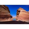 Hadley House Co Moonlit Wave-Utah by Scott Barlow Photographic Print on Wrapped Canvas