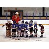 """Hadley House Co """"Hockey Talk"""" by Patricia Bourque Painting Print on Wrapped Canvas Canvas"""