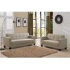 Container Sofa and Loveseat Set